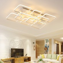 7065 Overlapping Squares Design Acrylic LED Ceiling Light