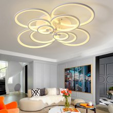 7068 Modern Overlapping Circle Shape LED Ceiling Light