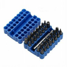 Chrome-vanadium Steel Screwdriver Bit Kit 33pcs