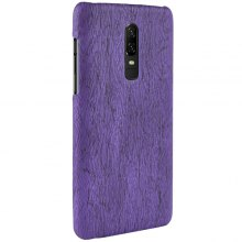 LuanKe Wood Grain Anti-slip Protective Cover for OnePlus 6