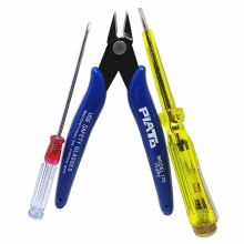 Flat Electroprobe / Cross Screwdriver Electronic Pliers Set