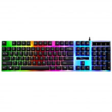 G21 Suspended Colorful LED Light USB Gaming Keyboard