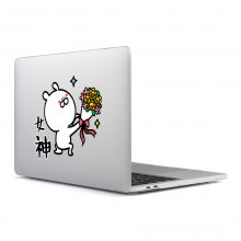 Computer Shell Laptop Case Keyboard Film Surface + Low for MacBook Air 13.3 inch 3D Small Fresh Series 10