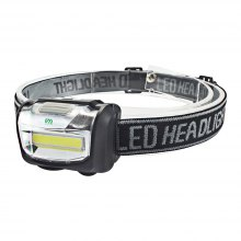 YWXLight COB LED Headlamp Mini Headlight Outdoor Camping Power By AAA Battery