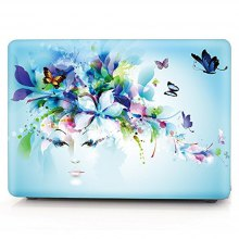 Charming Fantasy Girl Pattern Laptop Hard Case for Macbook Air 13.3 inch