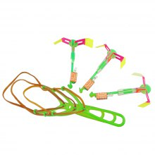 Arrow Helicopter Flying Toy with LED ( Pack of 3 )
