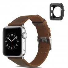 2 in 1 Apple Watch Leather Strap 38 Mm for iWatch Band