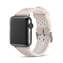 Bicolor Silicone Strap 42mm for iWatch Band