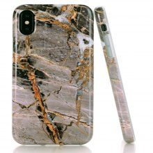 Creative Design Flexible Soft Marble TPU Cover for iPhone X