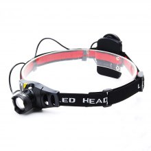 ZHISHUNJIA TK67Q5 3W 300lm 3-Mode White LED Zoom Headlamp (3xAAA)