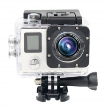 HAMTOD HBR6 Action Sports Camera with 4K Wi-Fi 30fps 1080P