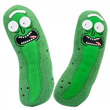 Cute Pickle Worm Plush Toy 1PC