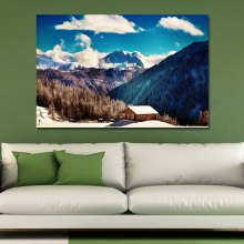 2A6JUW Photography A Cottage in the Forest Print Art
