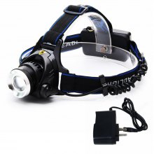 ZHISHUNJIA XQ19-T6 900lm 3-Mode Zooming Headlamp Telescopic Head Light