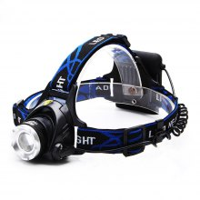 ZHISHUNJIA XQ19-4AA 800lm White 3-Mode XM-L T6 LED Zooming Headlamp
