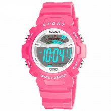 SYNOKE Children Movement Waterproof Noctilucent Electronic Watch