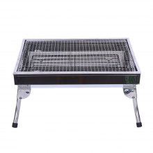 Outdoor Charcoal Courtyard BBQ Stainless Steel Barbecue Frame