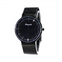 Chaoyada 8805 Japan Movement Stainless Mesh Steel Quartz Watch for Couple