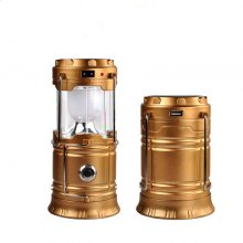 Light Rechargeable Portable Telescopic Outdoor Emergency Tent Pony Lantern
