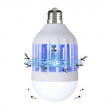 E27 Mosquito Killer Bug Zapper LED Light Bulb Insect Trap for Outdoor Indoor