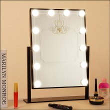 YWXLight 12LED Makeup Mirror Vanity LED Light Bulbs Kit Comestic Lamp