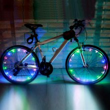YWXLight LED Colorful Bicycle Mountain Bike Light Cycling Spoke Wheel Lamp