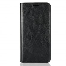 Genuine Leather Wallet Case Cover for Xiaomi Redmi Note 5 Pro