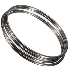 Chinese Linking Rings Magic Stage Trick 10cm Set of 4 Stainless Steel for Kids