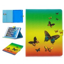 For iPad 2/3/4 9.7 inch Fashion Cat Owl Pattern Case PU Leather Flip Stand
