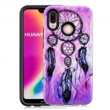 2 in 1 PC and TPU Fashion Pattern Phone Case for Huawei P20 Lite / Nova 3E