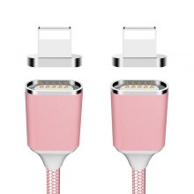 2 Pack Nylon Braided Magnetic USB Cable 1M for iPhone