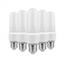 OMTO 5PCS E27 LED Frosted Light Bulb 220V 6W/12W/18W