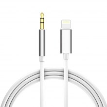 For iPhone 3.5mm Male Aux Audio Cable Auxiliary Stereo Cord Headphone Car