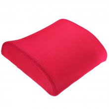 Lumbar Back Support Cushion Relief Pillow for Office Home Car Auto Booster Seat