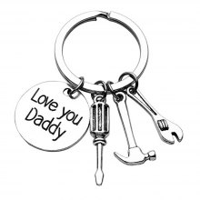 Key Chain Keyring for Fashion Jewelry Father Day Gift
