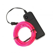 3m Neon Light Electroluminescent Wire / El Wire with Battery Pack