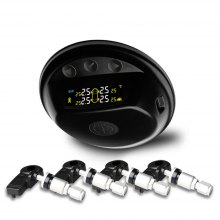 Solar Powered TPMS Wireless Tire Pressure Monitoring System Touch Keys Monitor