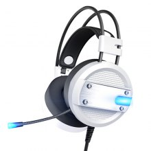 LED Lights Gaming Headset 3.5mm Over-Ear Stereo with Mic for PS4 / Xbox One / PC